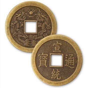 Монеты Фен-Шуй