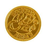 монета «приношу удачу, притягиваю деньги»